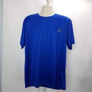 Adidas Active Tee Shirt Sz 2XL Blue F3
